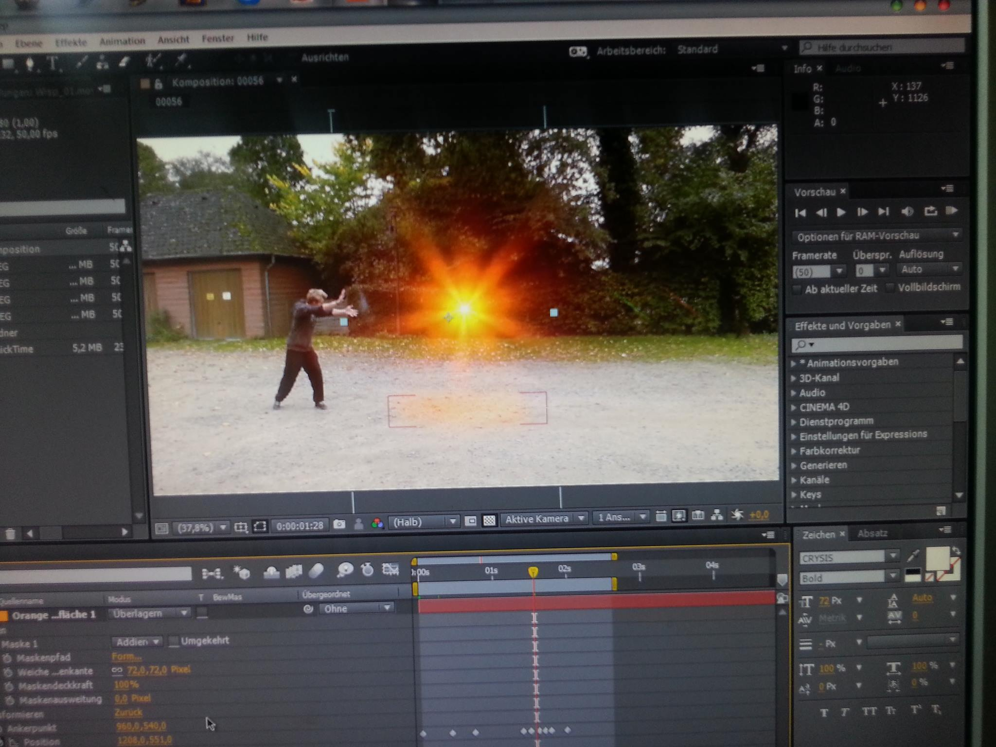 """Special FX - 5 Tage """"After Effects"""" lernen"""